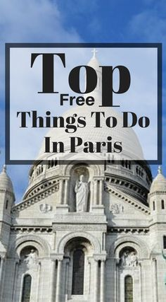 Top free things to do in Paris France. Paris is one of the most visited cities in Europe and has a surplus of iconic things to do and see. This is what makes a long weekend in Paris the perfect getaway with your loved one or even your girlfriends. Click to read more at http://www.divergenttravelers.com/long-weekend-in-paris/