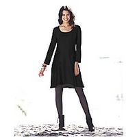 Flippy ITY Jersey Tunic Dress - Large Size Clothing and Maternity Wear - www.plussizedglamour.co.uk
