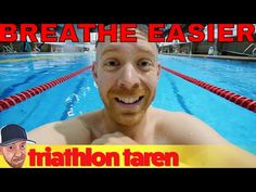 Breathe Less if you're out of Breath Triathlon Swimming - YouTube
