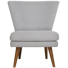 A new addition to the chair gallery collection, rewind to classic mid-century simplicity with the streamlined Wing chair. Generous yet cosy, the traditional wing chair has been given a contemporary makeover  The splayed, tapered timber legs and clean lines are signature hallmarks of the mid-century era, while the subtle contours of the wing back silhouette speaks of timeless style.   Upholstered in a micro-chevron fabric, with a range of colour options, Wing is the perfect addition to any…