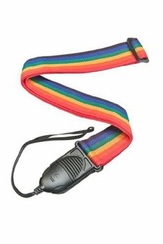 Planet Waves PWSPA211 Acoustic Guitar Strap - Rainbow by Planet Waves. $9.20. The Planet Waves Quick Release guitar strap in rainbow allows the player to easily disengage from the guitar. Just squeeze the quick-release and you're free: no knots to struggle with and no need to drill a second strap button into your guitar. It won't come loose during play, and the extra length of the cord keeps the guitar strap from interfering with your hand when playing near the headsto...