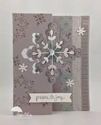 stampin up snowflake card thinlits - Recherche Google