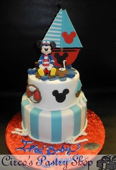 MICKEY SAILOR CAKE - Google Search