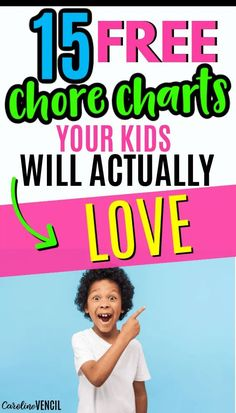 If you need help with getting your kids on board with chores, check out these 15 free ones that will make them LOVE chores!! #chorechartsforkids #kidschorecharts #freechorechartprintables #chorechartprintables #freechorecharts Chore Chart For Toddlers, Charts For Kids, Family Chore Charts, Printable Chore Chart, Toddler Chores, Back To School Hacks, Money Saving Mom, Love My Kids, Frugal Living Tips