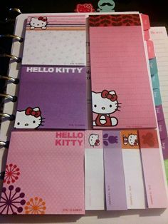 Just got done setting up my dashboard.....HELLO KITTY!!!!