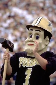 Purdue University Boilermakers - mascot Purdue Pete