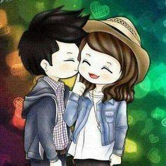 Cute kisses