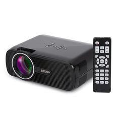Projector, LESHP Mini HD Laptop Projector LED Pico: Amazon.co.uk: Electronics