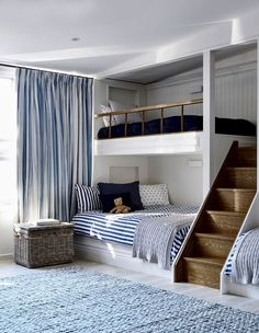 Cool Kids Bedroom Trends 2017 – Home Decor Dream Rooms, Dream Bedroom, Home Bedroom, Small Bedroom Interior, Bunk Bed Designs, Girl Bedroom Designs, Cool Kids Bedrooms, Awesome Bedrooms, Shared Bedrooms