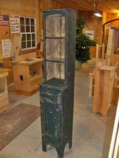 Step Back Chimney Cupboard. $369.00, via Etsy.