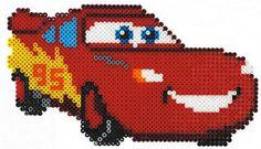 McQueen Cars hama beads by Enjoy the HandMade