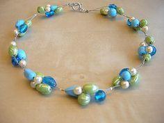 glaskralen juwelen - Google Search