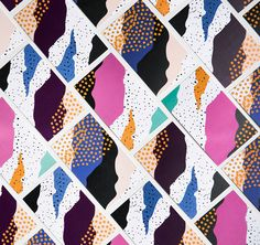 Creative Design, Print, and Pattern image ideas & inspiration on Designspiration Pattern Texture, Surface Pattern Design, Packaging Design Inspiration, Graphic Design Inspiration, Creative Inspiration, Textile Patterns, Print Patterns, Motifs Organiques, Creativity And Innovation