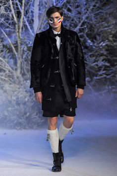 Moncler Gamme Bleu by Thom Browne Fall/Winter 2012.