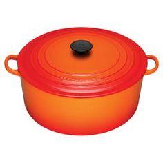 Le Creuset 9-Quart Dutch Oven in Flame
