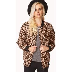 ❗️ Leopard Print Bomber Jacket❗️ Animal Quilted Leopard Print Bomber Jacket. Sold Out. New condition. Never been worn outside. Forever 21 Jackets & Coats Puffers