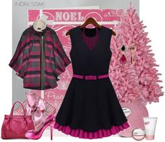 """""""Noel Pink"""" by armband ❤ liked on Polyvore"""