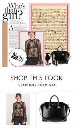 """""""Who's that girl?"""" by vjezbice ❤ liked on Polyvore featuring Givenchy and Boohoo"""