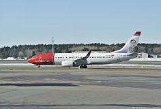 Norwegian Air Shuttle Boeing 737-800 - cn 40869 / 3651 LN-DYQ First Flight May 2011 Age 4.4 Years Test registration N1787B Aircraft Name Helge Ingstad Stockholm Arlanda Airport (IATA: ARN, ICAO: ESSA)