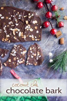 Chocolate Coconut Chai Bark — Foraged Dish