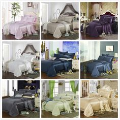 22 Momme Seamless Silk Bedding Set   http://www.snowbedding.com/   Snow Bedding offers a wide range of silk bedding products: silk filled duvet/ comforter, silk pillows, silk sheets, silk bedding sets in different styles and colors.  #silkbedding #silksheets #silkluxurybedding #silkbeddingsets #luxurybedding #chinesesilkbedding #satinbedding #silkcomforters #silkbeddingcostco