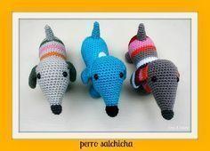 Crochet Free Amigurumi Patterns Dutch Ideas For 2019 Crochet Diy, Crochet Amigurumi Free Patterns, Crochet Gifts, Crochet For Kids, Crochet Dolls, Crochet Mignon, Confection Au Crochet, Yarn Crafts, Crochet Projects