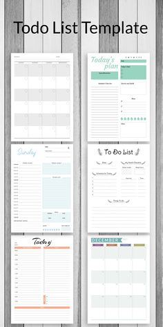 Chose this Todo List template and get started. Getting organized and focused can make all the difference. Print it at home or at a print shop, or use with Xodo, Goodnotes, Notability and Noteshelf for your Android tablet. #to-do #template #templates #sheets #layout