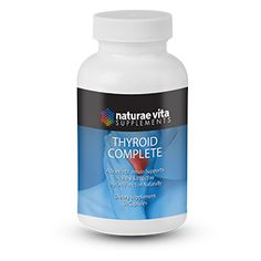 Thyroid Complete Advanced formula supports healthy & effective thyroid function naturally Naturae Vita's Thyroid Complete is a unique combination of vitamins, minerals, herbs and amino acids formulated to help maintain normal thyroid activity. Weight Loss Supplements, Amino Acids, Thyroid, Minerals, Vitamins, Herbs, Healthy, Unique, Products