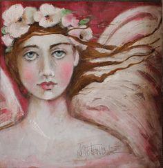 angel painting... k d milstein