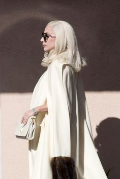 "ladvsgaga: "" "" Nov. 10,15 // Lady Gaga on the set of American Horror Story: Hotel in Los Angeles, CA. "" """
