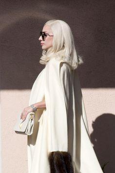 """ladvsgaga: """" """" Nov. 10,15 // Lady Gaga on the set of American Horror Story: Hotel in Los Angeles, CA. """" """""""