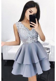 High Low Round Neck Lace Homecoming Dresses Party Dresses Prom Dresses Cocktail Dresses Graduation Dresses(ED1870) Teen Homecoming Dresses, Prom Girl Dresses, V Neck Prom Dresses, Prom Dresses 2017, Dresses Short, Dresses For Teens, Cheap Dresses, Party Dresses, Graduation Dresses