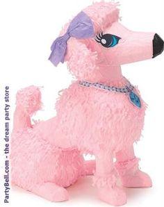"Pink Poodle 15"" Pinata $15.12"