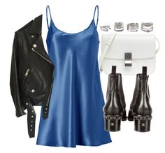 """""""Untitled #22021"""" by florencia95 ❤ liked on Polyvore featuring La Perla, Chanel, Acne Studios and Forever 21"""