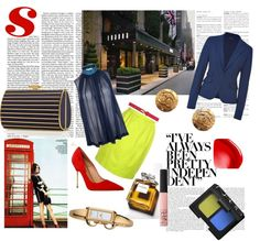 """Blue Execs"" by sandrsdutchess on Polyvore"
