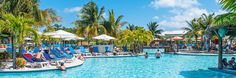 The only cruise port in the Turks and Caicos, this large complex on Grand Turk is located directly on an excellent beach and also offers a huge pool, quite a few shops and the largest Jimmy Buffett's Margaritaville in the Caribbean.