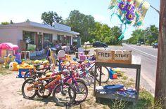 North Fork yard and tag sales May 15, 16