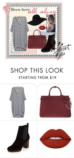 """""""You Belong With Me"""" by crazybae120 on Polyvore featuring Burberry, New Look, Lime Crime and Monki"""