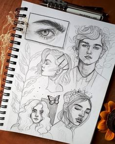 Beautiful Art by Shared by ____________________. by of art Cool Art Drawings, Pencil Art Drawings, Art Drawings Sketches, Random Drawings, Art Illustrations, Arte Sketchbook, Sketchbook Pages, Sketchbook Inspiration, Aesthetic Art