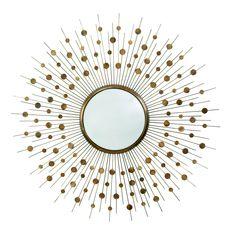 Orion Large Mirror by Arteriors #starburst #mirror