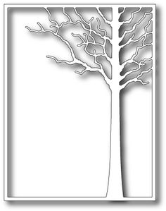 Memory Box Forest Tree Frame Die