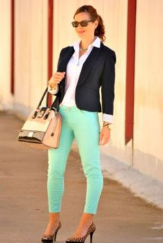 Trendy business casual work outfit for women (3)