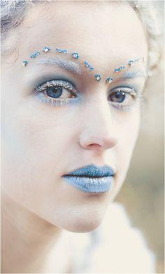 halloween schminke ideen märchen weiße hexe narnia