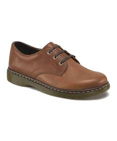 Look what I found on #zulily! Tan Andre Leather Oxford - Men by Dr. Martens #zulilyfinds
