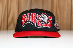 Vintage 90 s Buffalo Sabres G-Cap Wave Snapback Hat 6972cc1ac7e6