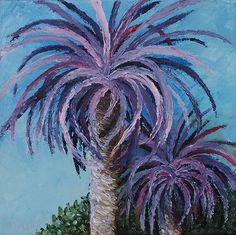Pasadena Palm Painting  - Pasadena Palm Fine Art Print  http://fineartamerica.com/featured/pasadena-palm-karen-balon.html