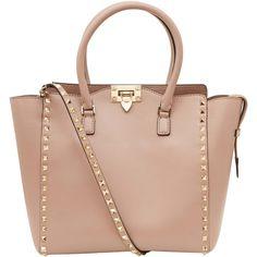 Valentino Small Beige Rockstud Double Handle Bag - aaaaaaaaaaaaaarrrggghhhh waaant so bad!!