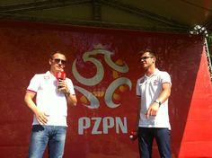 Tomasz Rząsa i Łukasz Wiśniowski (PZPN)