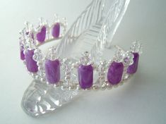 Childs Purple Tiara