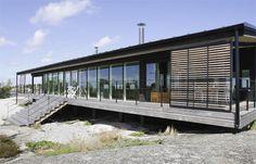 Magnificent #modern Finnish #summerhouse :: Meidän Mökki